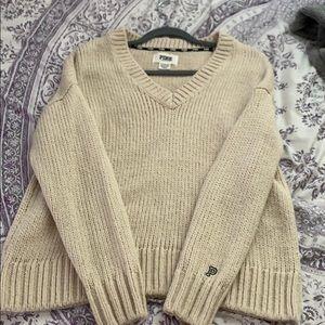 PINK boyfriend sweater